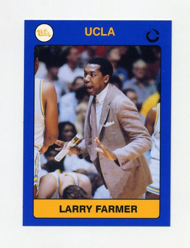 1991 UCLA Collegiate Collection #004 Larry Farmer - UCLA Bruins