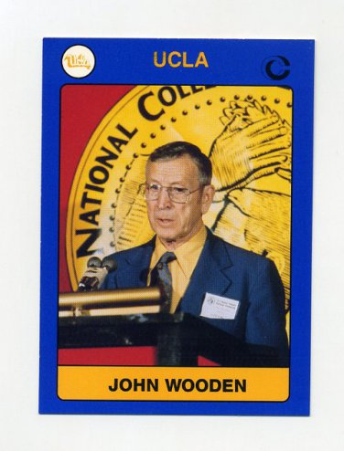 1991 UCLA Collegiate Collection #001 John Wooden - UCLA Bruins