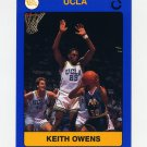 1990-91 UCLA Basketball #08B Keith Owens - UCLA Bruins