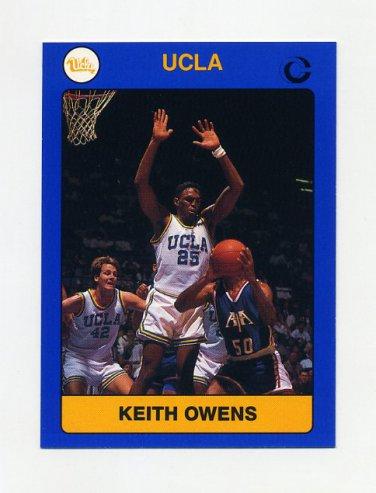 1990-91 UCLA Basketball #08B Keith Owens - UCLA Bruins