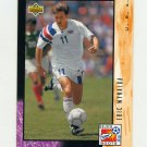 1994 Upper Deck World Cup Contenders English/Spanish Soccer #330 Eric Wynalda - United States