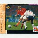 1994 Upper Deck World Cup Contenders English/Spanish Soccer #324 Dennis Bergkamp - Holland