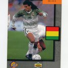 1994 Upper Deck World Cup Contenders English/Spanish Soccer #318 Bolivia