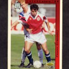 1994 Upper Deck World Cup Contenders English/Spanish Soccer #287 Frank Strandli - Norway