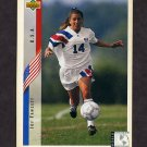 1994 Upper Deck World Cup Contenders English/Spanish Soccer #272 Joy Fawcett - U.S.A.