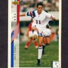 1994 Upper Deck World Cup Contenders English/Spanish Soccer #271 Julie Foudy - U.S.A.