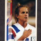 1994 Upper Deck World Cup Contenders English/Spanish Soccer #270 Carla Overbeck - U.S.A.
