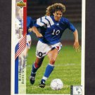 1994 Upper Deck World Cup Contenders English/Spanish Soccer #267 Michelle Akers-Stahl - U.S.A.