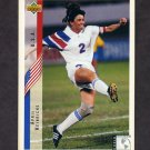 1994 Upper Deck World Cup Contenders English/Spanish Soccer #265 April Heinrichs - U.S.A.