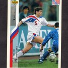 1994 Upper Deck World Cup Contenders English/Spanish Soccer #250 Andy Kantchelskis - Russia