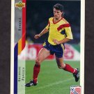 1994 Upper Deck World Cup Contenders English/Spanish Soccer #239 Gheorghe Popescu - Romania