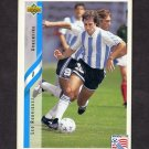 1994 Upper Deck World Cup Contenders English/Spanish Soccer #234 Leo Rodriguez - Argentina