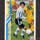 1994 Upper Deck World Cup Contenders English/Spanish Soccer #233 Abel Balbo - Argentina