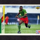 1994 Upper Deck World Cup Contenders English/Spanish Soccer #230 Alphonse Tchami - Cameroon