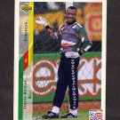 1994 Upper Deck World Cup Contenders English/Spanish Soccer #223 Joseph-Antoine Bell - Cameroon