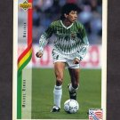 1994 Upper Deck World Cup Contenders English/Spanish Soccer #218 Miguel Rimba - Bolivia