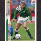 1994 Upper Deck World Cup Contenders English/Spanish Soccer #212 Alan Kernaghan - Ireland