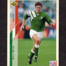 1994 Upper Deck World Cup Contenders English/Spanish Soccer #210 Niall Quinn - Ireland