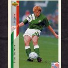 1994 Upper Deck World Cup Contenders English/Spanish Soccer #208 Steve Staunton - Ireland