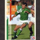 1994 Upper Deck World Cup Contenders English/Spanish Soccer #205 Ray Houghton - Ireland