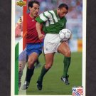 1994 Upper Deck World Cup Contenders English/Spanish Soccer #203 Terry Phelan - Ireland