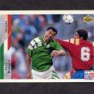1994 Upper Deck World Cup Contenders English/Spanish Soccer #202 Paul McGrath - Ireland