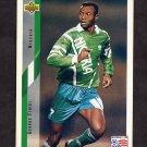 1994 Upper Deck World Cup Contenders English/Spanish Soccer #199 George Finidi - Nigeria