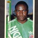1994 Upper Deck World Cup Contenders English/Spanish Soccer #198 Rashidi Yekini - Nigeria
