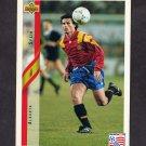 1994 Upper Deck World Cup Contenders English/Spanish Soccer #193 Alkorta - Spain
