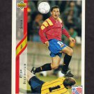 1994 Upper Deck World Cup Contenders English/Spanish Soccer #188 Aitor Beguiristain - Spain