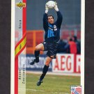 1994 Upper Deck World Cup Contenders English/Spanish Soccer #183 Andoni Zubizarreta - Spain
