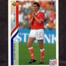 1994 Upper Deck World Cup Contenders English/Spanish Soccer #180 Johnny Bosman - Holland