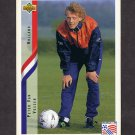 1994 Upper Deck World Cup Contenders English/Spanish Soccer #179 Peter Van Vossen - Holland