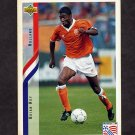 1994 Upper Deck World Cup Contenders English/Spanish Soccer #174 Brian Roy - Holland