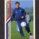 1994 Upper Deck World Cup Contenders English/Spanish Soccer #173 Marc Overmars - Holland