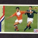 1994 Upper Deck World Cup Contenders English/Spanish Soccer #172 Frank Rijkaard - Holland