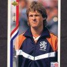 1994 Upper Deck World Cup Contenders English/Spanish Soccer #171 Erwin Koeman - Holland