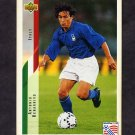 1994 Upper Deck World Cup Contenders English/Spanish Soccer #165 Antonio Benarrivo - Italy