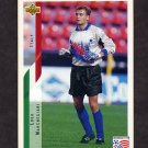 1994 Upper Deck World Cup Contenders English/Spanish Soccer #163 Luca Marchegiani - Italy