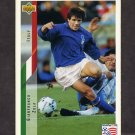 1994 Upper Deck World Cup Contenders English/Spanish Soccer #157 Gianfranco Zola - Italy