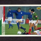 1994 Upper Deck World Cup Contenders English/Spanish Soccer #156 Giuseppe Signori - Italy