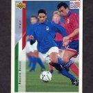 1994 Upper Deck World Cup Contenders English/Spanish Soccer #153 Roberto Baggio - Italy