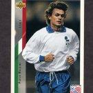 1994 Upper Deck World Cup Contenders English/Spanish Soccer #150 Paolo Maldini - Italy