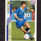 1994 Upper Deck World Cup Contenders English/Spanish Soccer #143 Nikolaos Tsiantakis - Greece