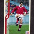 1994 Upper Deck World Cup Contenders English/Spanish Soccer #134 Regis Rothenbuhler - Switzerland