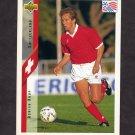 1994 Upper Deck World Cup Contenders English/Spanish Soccer #126 Adrian Knup - Switzerland