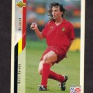 1994 Upper Deck World Cup Contenders English/Spanish Soccer #112 Rudy Smidts - Belgium