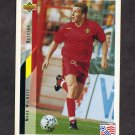 1994 Upper Deck World Cup Contenders English/Spanish Soccer #110 Marc Wilmots - Belgium