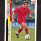 1994 Upper Deck World Cup Contenders English/Spanish Soccer #109 Luc Nilis - Belgium