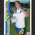 1994 Upper Deck World Cup Contenders English/Spanish Soccer #094 Martin Dahlin - Sweden